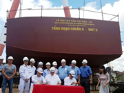 Vietnamese firm starts building fish trawler for Canada