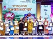 Hanoi: Vu Lan event pays tribute to ancestors, fallen soldiers
