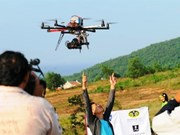 Drones fly in Vietnam without licences