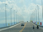 One of longest sea bridges in Southeast Asia opens in Hai Phong