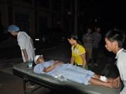 Two died, seven injured in northern landslide
