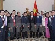 Deputy PM receives Lao youth union delegation