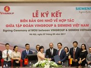 Vingroup, Siemens boost technological cooperation