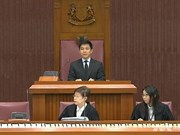 Singapore elects new speaker of parliament