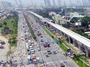 First HCM City metro line to get tracks next month