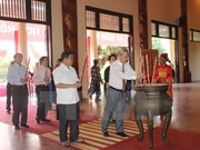 Localities mark Ho Chi Minh's death anniversary