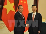 Deputy PM meets Chinese Vice Premier, urging stronger cooperation