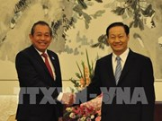 Vietnam seeks stronger cooperation with China's Guangxi province