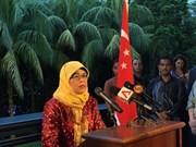 Halimah Yacob becomes Singapore's new President