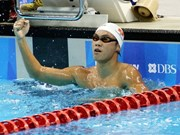Vietnamese wins two golds at Asian swimming event
