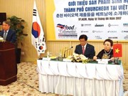 Korean bioproducts penetrate into Vietnamese market
