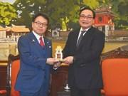 Hanoi seeks Japan's loans for metropolis railway projects