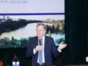 Former Finnish PM talks innovation-based economic development