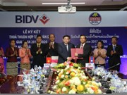 BIDV, Lao foreign trade bank beef up cooperation