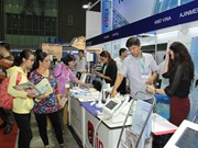 Int'l health care expo opens in HCM City