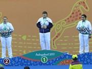 Vietnam win muaythai, kurash golds at AIMAG