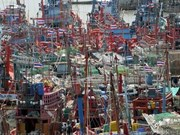 Thai fishermen demonstrate against EU fishing regulations