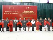 Vietnam-China border friendship cultural house inaugurated in Lai Chau