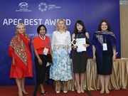 Vietnam's women entrepreneurs win APEC awards
