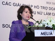 Vietnam suggests foundation of APEC women entrepreneurs' network