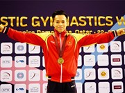 Vietnam to compete in world gymnastics championships