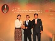 Vietravel named 'Best Travel Agency' in Vietnam