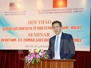 Vietnam, US share experience in criminal law enforcement