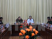 Cambodian military delegation visits Hau Giang