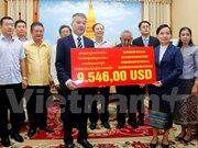 Overseas Vietnamese assist storm victims in Laos