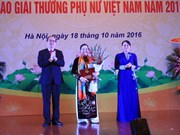 Winners of Vietnam Women Award 2017 announced