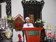 Cao Dai sect celebrates 91st founding anniversary