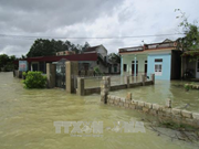 Floods cause heavy damage in central Thanh Hoa province