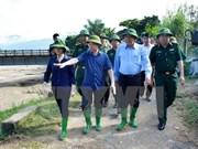 Deputy PM inspects flood, landslide-hit areas in Yen Bai