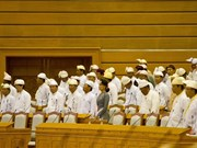Myanmar parliament discusses financial policy
