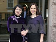 Vice President seeks stronger multifaceted cooperation with Finland