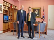 Australian Senate speaker delights at progress of ties with Vietnam