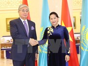 Top legislator concludes official visit to Kazakhstan