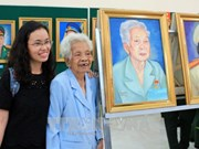 Portraits of Heroic Vietnamese Mothers, heroines exhibited