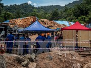 Malaysia: 11 people dead, missing in landslide