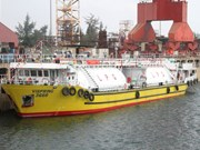 Dung Quat Shipyard's first gas carrier launched