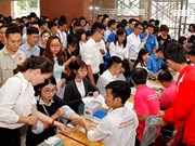 7,000 youths join in blood donation campaign