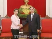 Mission 2020 leader welcomed in Hanoi