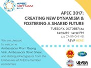 US-Asia Institute holds conference on APEC 2017