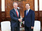Outgoing US Ambassador bids farewell to President