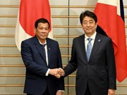 Japan, Philippines jointly develop infrastructure, fight terrorism