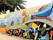 Street art livens up APEC week