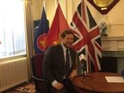 UK highly appreciates economic, trade cooperation with Vietnam