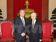 Party chief: Vietnam pays great attention to relations with China