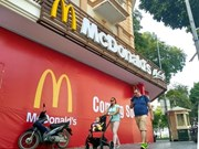 McDonald's to open first restaurant in Hanoi