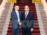 PM Nguyen Xuan Phuc welcomes Alibaba Chairman Jack Ma